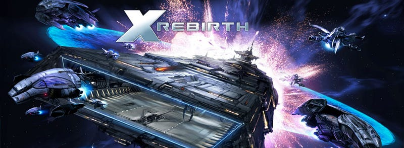 Illustration for article titled X-Rebirth: looks like i dodged a railgun round there...