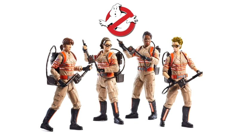 Illustration for article titled Director Paul Feig Reveals the New Ghostbusters Figures