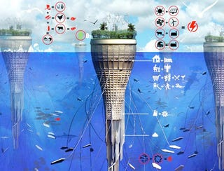 Illustration for article titled So Why Can't Skyscrapers Be Made Underwater?
