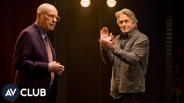 Michael Douglas and Alan Arkin prefer their Netflix via mail, as god intended