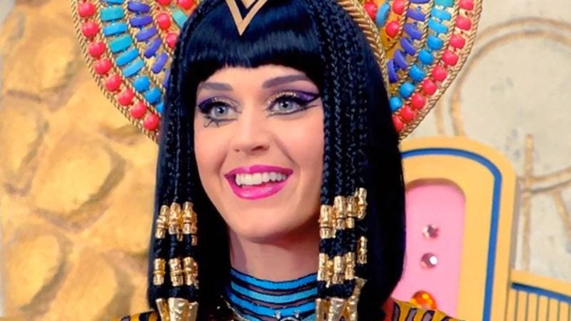 Illustration for article titled Katy Perry sued for ruining Christian rap song with her black magic