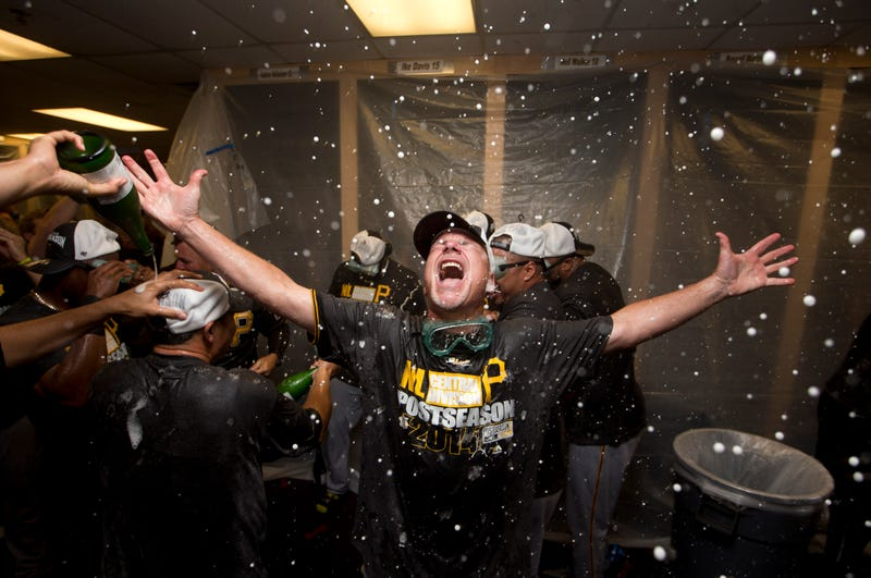 Illustration for article titled The Pirates' Locker-Room Celebration Looks Like So Much Fun