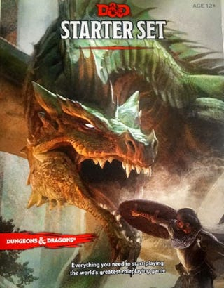 Illustration for article titled Dungeons and Dragons Starter Set Is A Great Buy For Beginning Players