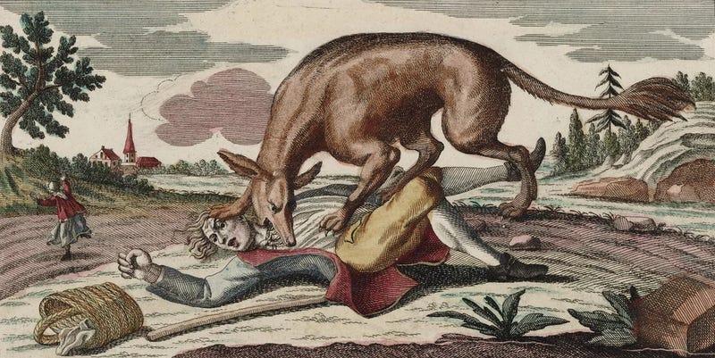 Resultado de imagen para imagenes bestia gevaudan