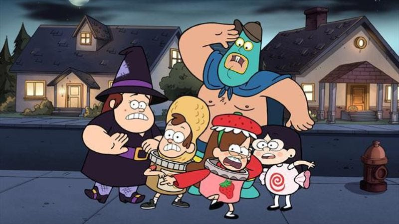 "Illustration for article titled Gravity Falls: ""Summerween"""