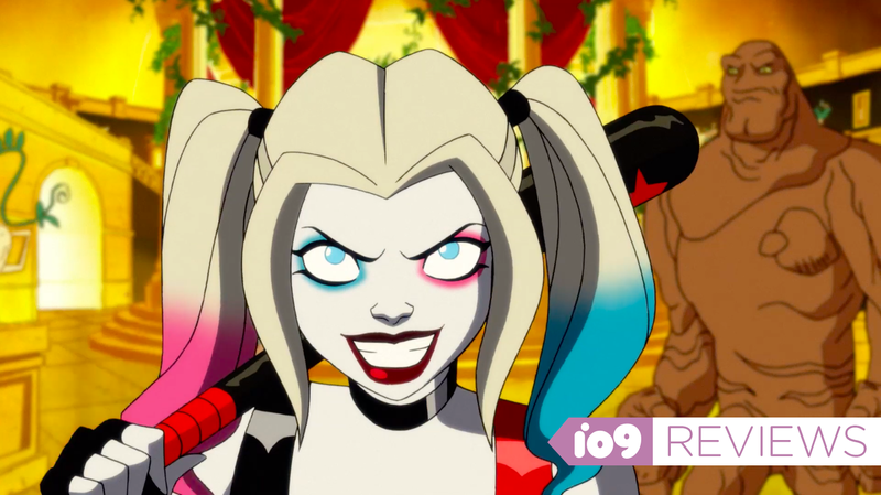 Harley Quinn and Clayface.