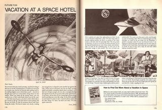 Illustration for article titled Vacation at a Space Hotel (1982)