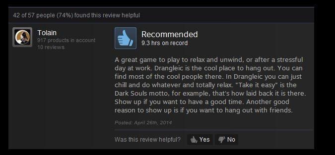 Dark Souls 2 Review: Dark Souls II, As Told By Steam Reviews