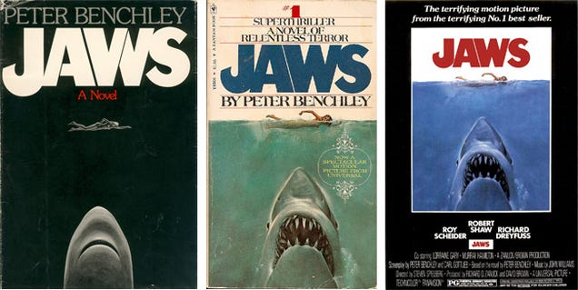 White Teeth Book Cover : The bizarre story of how original poster for jaws went
