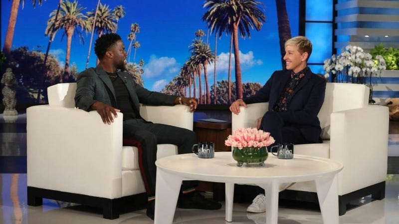 Illustration for article titled Kevin Hart Might Host the Oscars After All, Thanks to Ellen DeGeneres