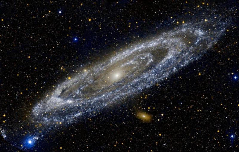 La galaxia de Andrómeda.