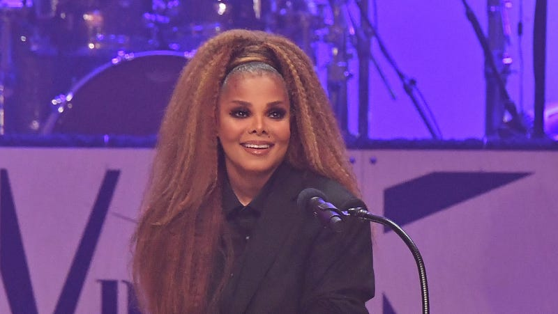 Janet Jackson speaks at 2018 BMI R&B/Hip-Hop Awards on August 30, 2018 in Atlanta, Georgia.