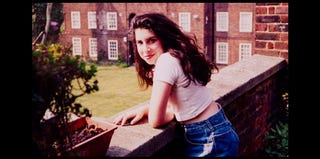 Teenage Amy Winehouse at her grandmother's flat (Winehouse Foundation)