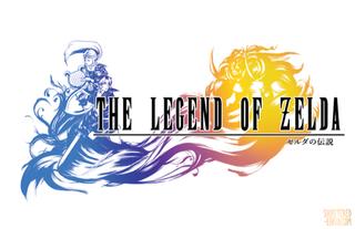 Illustration for article titled Los logotipos de Final Fantasyreimaginados con The Legend of Zelda