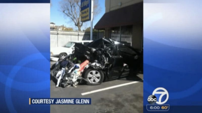 This Crash At A Car Sideshow Put A Toddler In The Hospital