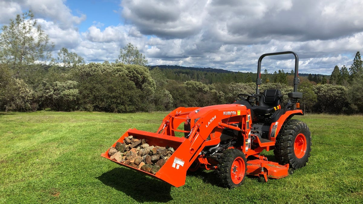 Happiness Is Buying A Tractor - My New Kubota B2650