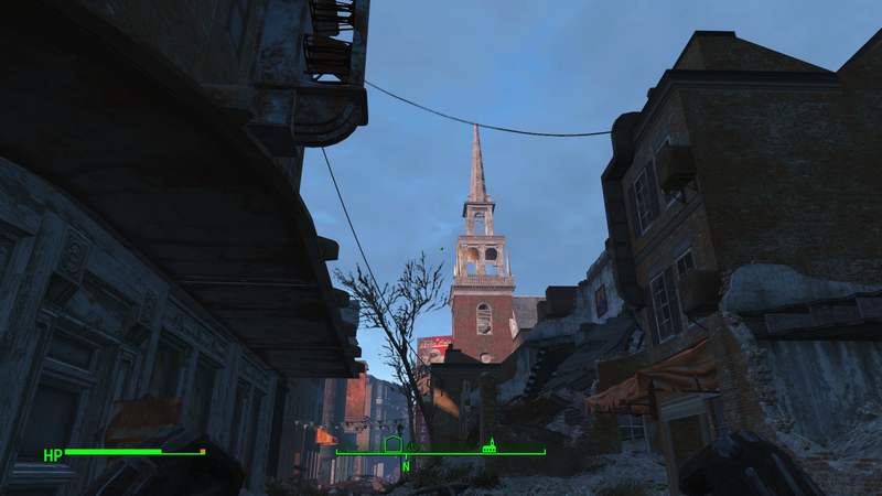 Illustration for article titled Touring Boston's Freedom Trail in Fallout 4