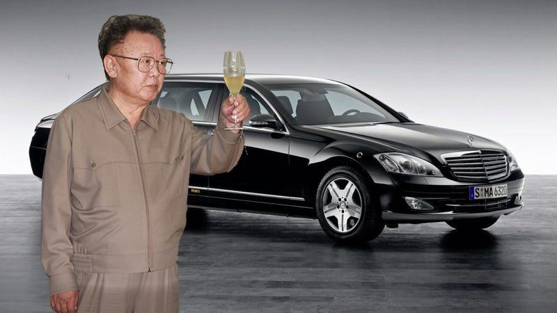Illustration for article titled Kim Jong-Il's secret Mercedes-Benz fetish