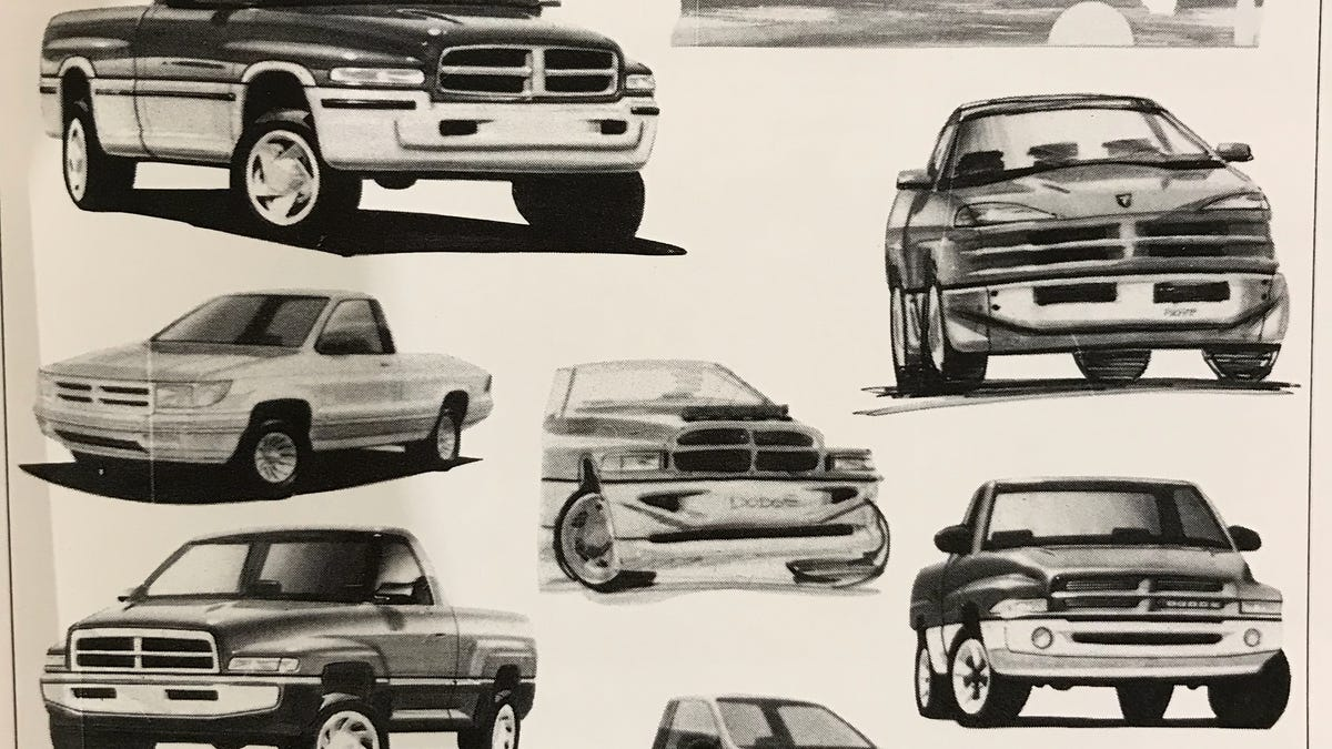 The Original Design For Second Gen Dodge Ram Was A Styling Disaster 1986 D250 Pictures Only