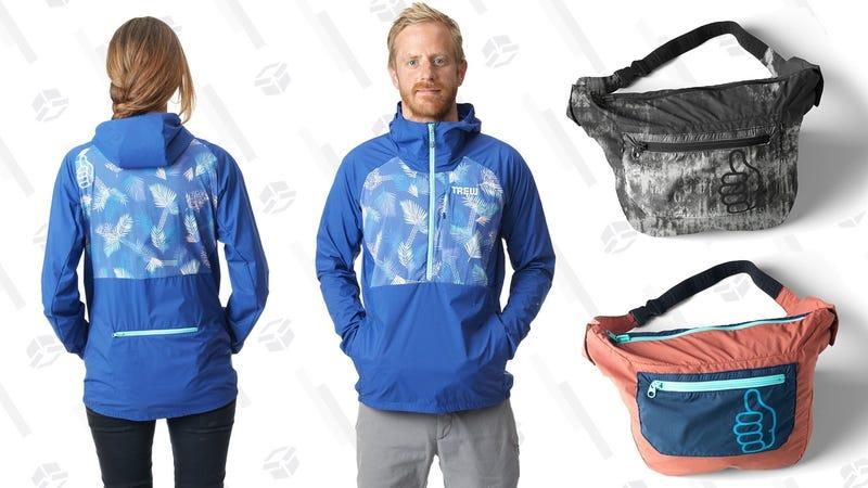 Trew Pack Jack Raincoat | $111 | Trew | Promo code MYFANNY30