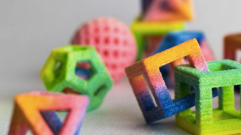 Illustration for article titled Beautiful 3D-printed candies look like delicious modern art