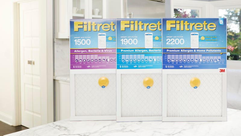 Illustration for article titled This Bluetooth Air Filter Will Tell You Just How Filthy Your Air Is