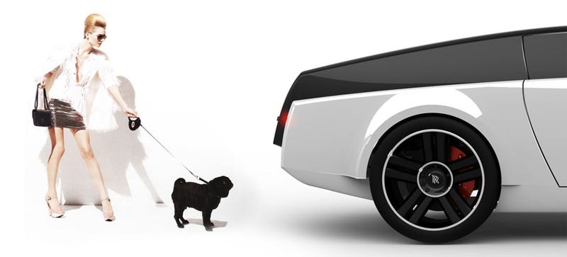Illustration for article titled At Last! A Rolls-Royce Designed For Dogs