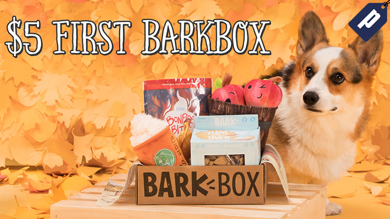 Illustration for article titled Get Your First BarkBox For Just $5 And Share Monthly Toys & Treats With Your Dog