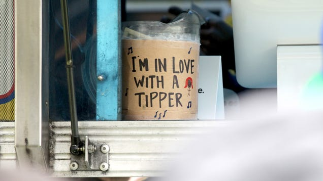 """Damn it, tech bros, don't try to """"disrupt"""" tipping"""