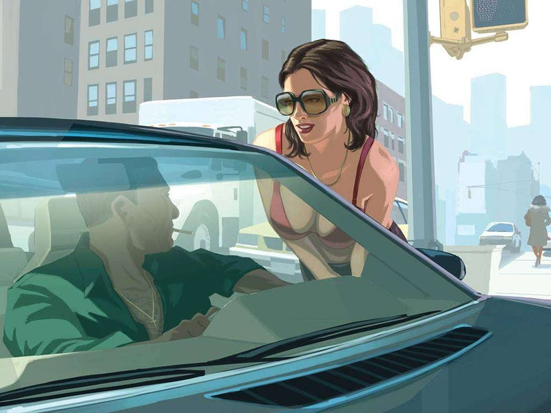 Illustration for article titled Life For A Grand Theft Auto Call Girl Kind Of Sucks