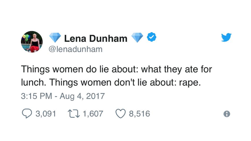 @lenadunham via Twitter screenshot