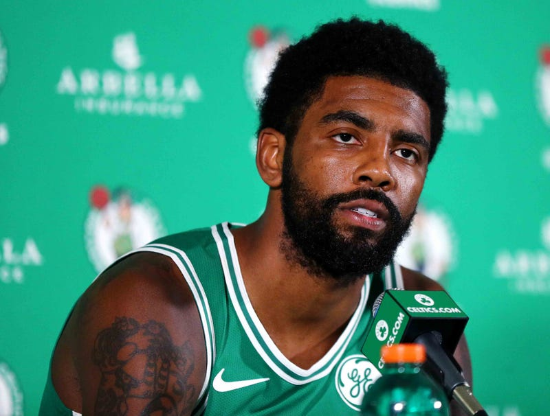 Illustration for article titled Kyrie Irving Promises Celtics He Won't Quit On Whatever Team He Signs With This Offseason