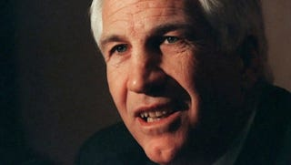 Illustration for article titled Jerry Sandusky Will Continue To Collect His $59K Annual Pension, Unless He's Convicted Of Raping Boys