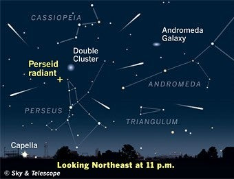 Illustration for article titled Catch the Perseids Meteor Shower Thursday Night
