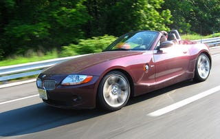 Illustration for article titled Let's Take a Moment to Drink In the Beauty of the E85 Z4 in Merlot Red Metallic