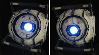 Illustration for article titled This Custom Portal 2 Toy Has Its Eye on You