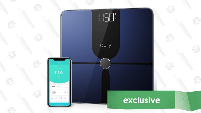 Eufy Smart Scale P1 | $31 | Amazon | Promo code KINJA9147. Works on either white or black.