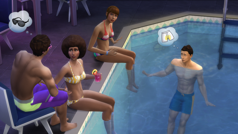 Illustration for article titled The Sims 4 Gets Swimming Pools (For Free) Today