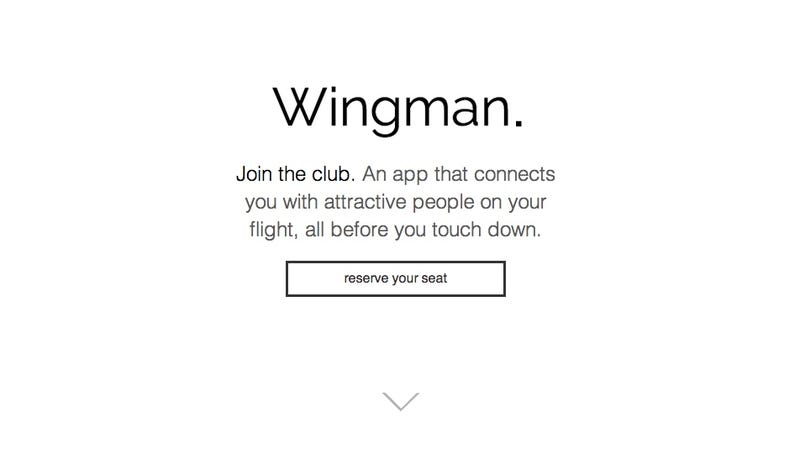 Illustration for article titled Here's an App for Having Sex at 30,000 Feet