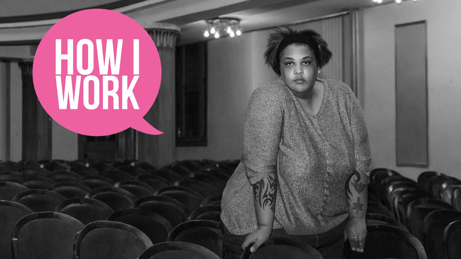 I'm Author Roxane Gay, and This Is How I Work