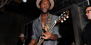 Gary Clark Jr. performs in New York City on Sept. 5, 2012. (D. Dipasupil/Getty Images Entertainment)