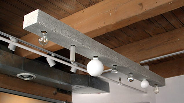 120 pound concrete light fixture is an ikea designer 39 s for Industrial nightmare pictures