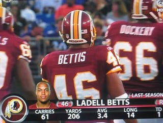 Illustration for article titled Betts, Bettis ... Whatever It Takes