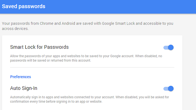 Google's New Smart Lock Is the Password Manager for the Rest
