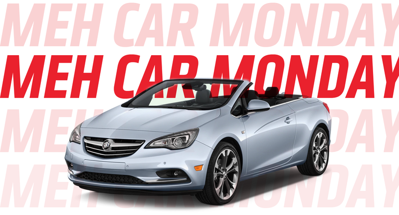 Illustration for article titled Meh Car Monday: All Hail the Buick Cascada, a Car You Never Think About