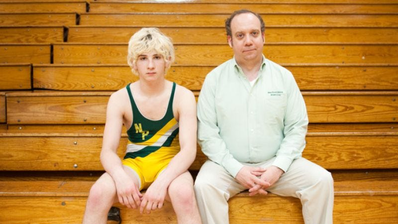 Illustration for article titled The trailer for Win Win: Paul Giamatti. Wrestling picture. What do you need, a road map?