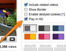 Illustration for article titled YouTube Uploads Doubled to 2GB, HD Embeds and Linking Added