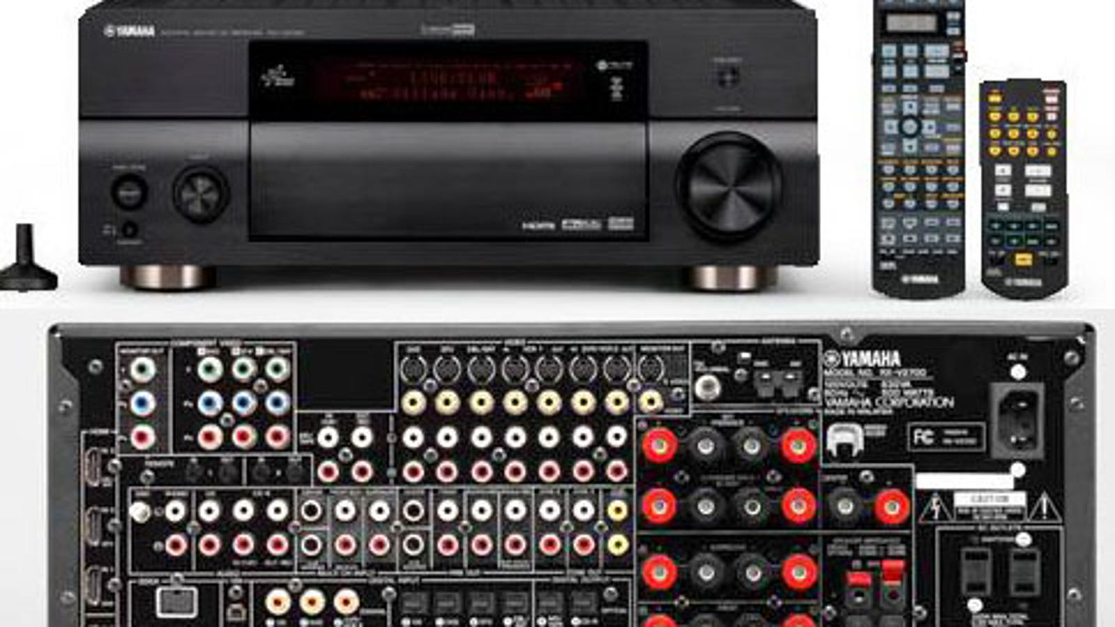 Yamaha RX-V2700 and RX-V1700 HDMI Receivers