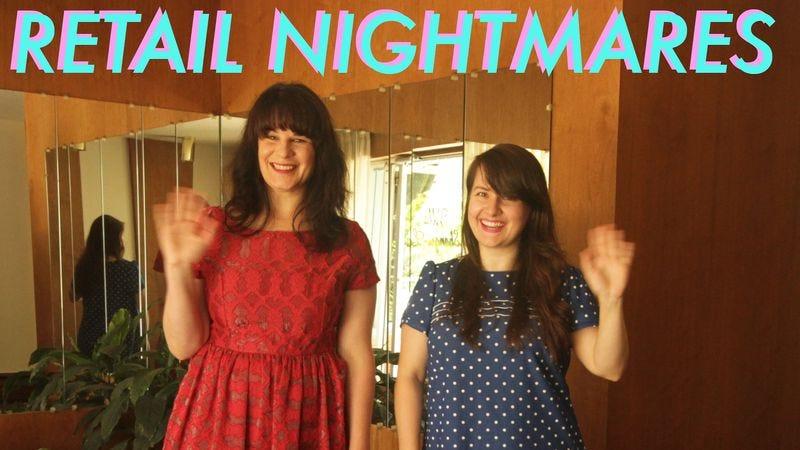 Alicia Tobin and Jessica Delisle, hosts of Retail Nightmares