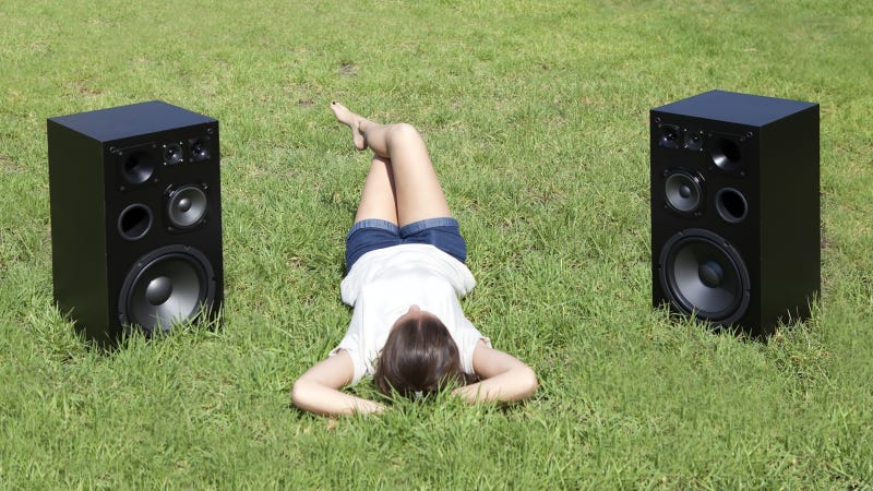 Backyard Music System four easy ways to listen to your music outdoors